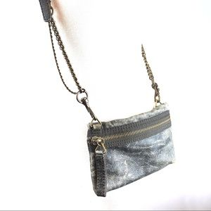 J.Crew Distressed Crossbody Handbag